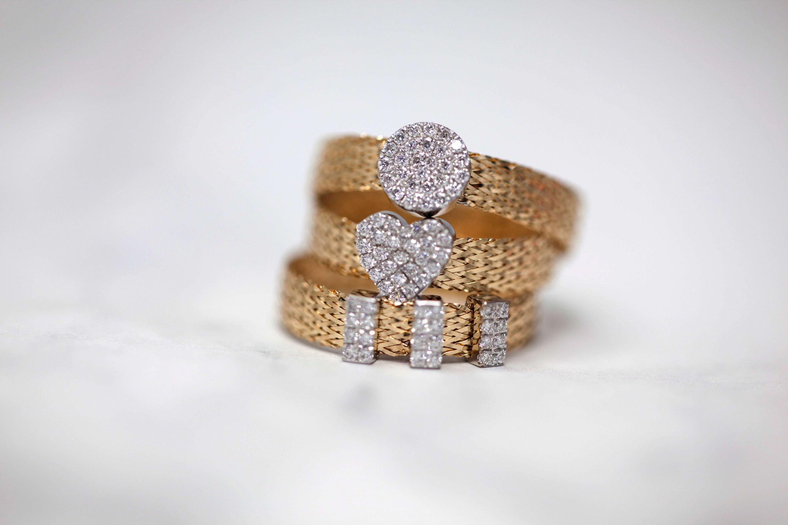 Picking perfect Diamond Ring Sets to match